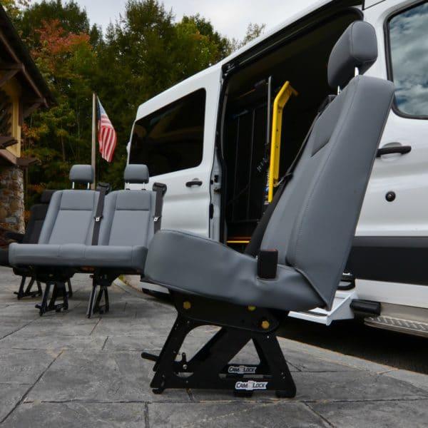 CAMLock-2 Original Equipment Seat Remount, Patent Pending